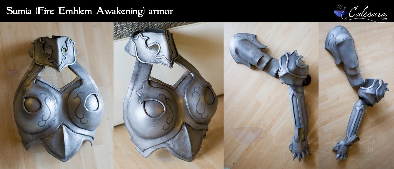Sumia Armors (Fire Emblem Awakening)
