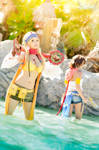 Final Fantasy X-2 - Yuna and Rikku