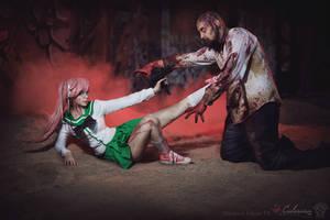Highschool of the Dead - Saya Takagi by Calssara