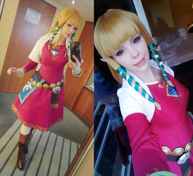 Skyward Sword - Zelda Selfies by Calssara