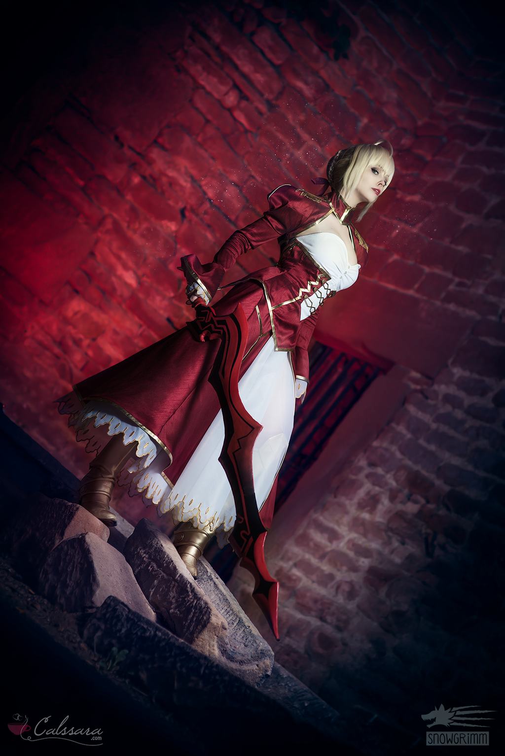 Saber Nero - Fate/Extra IV by Calssara