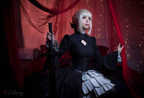 Saber Alter - Fate/hollow Ataraxia II by Calssara