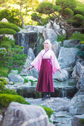 Fate Grand Order - Okita Souji Saber Sakura IV by Calssara