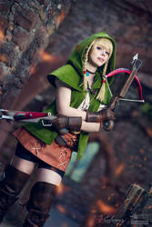 Hyrule Warriors - Linkle by Calssara