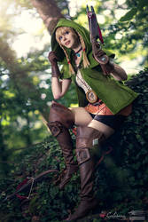 Hyrule Warriors - Linkle III by Calssara