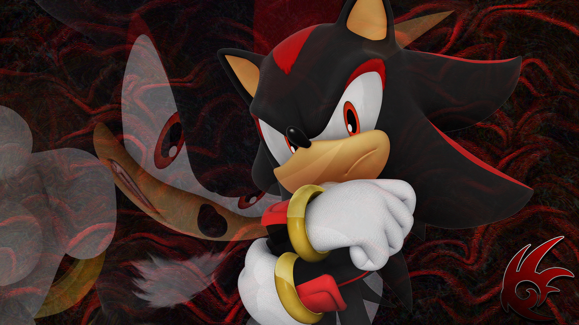 Shadow the Hedgehog (Desktop Wallpaper) by Passionworks on ...
