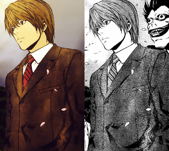 Manga Colorizing 7 Kira Or Yagami Light/Raito By MizoreSYO