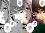 Manga colorizing 10 Moka and Tsukune