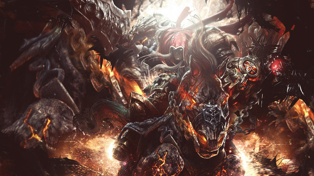 War (from Darksiders) Wallpaper by MizoreSYO