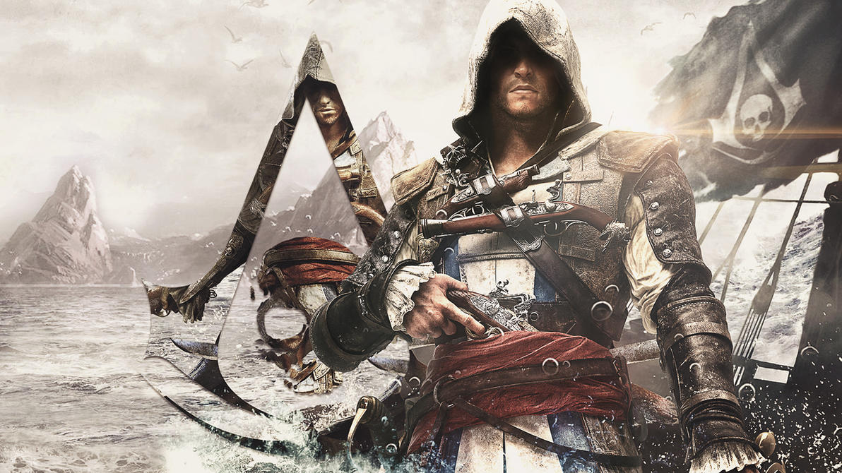 Edward Kenway - Black Flag Wallpaper by MizoreSYO