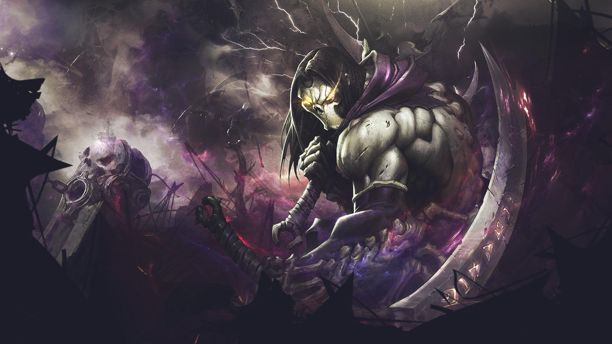 Death (from Darksiders II) Wallpaper by MizoreSYO