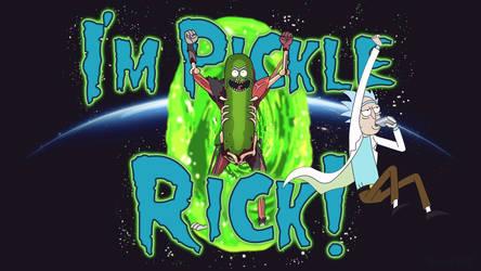 Pickle Rick Wallpaper by MizoreSYO
