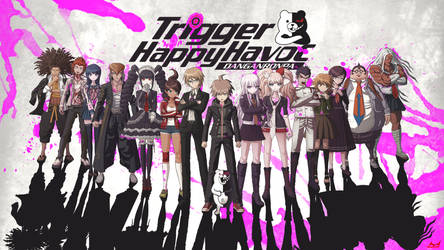 Trigger Happy Havoc Danganronpa Wallpaper by MizoreSYO
