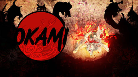 Okami Amaterasu Wallpaper by MizoreSYO