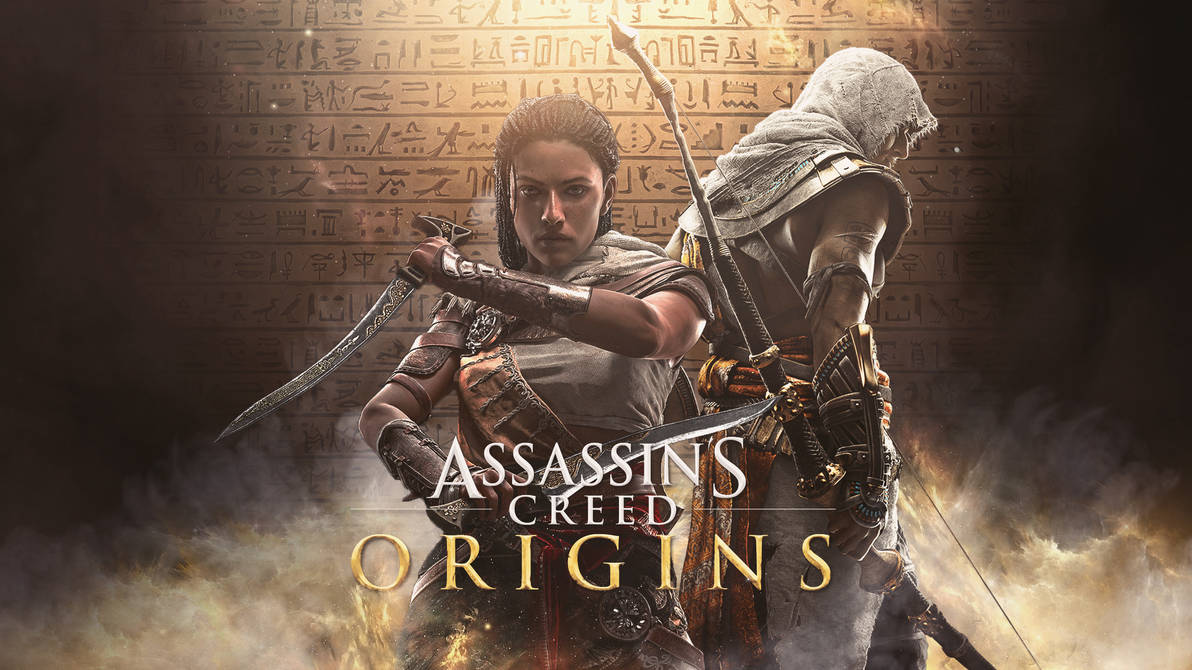 Assassins Creed Origins Aya And Bayek Wallpaper By Mizoresyo On