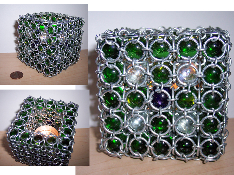 Maille Candle Holder