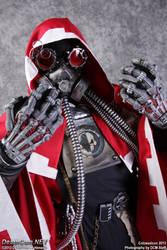 Warhammer 40k Tech-Priest Cosplay v.3 Close-up