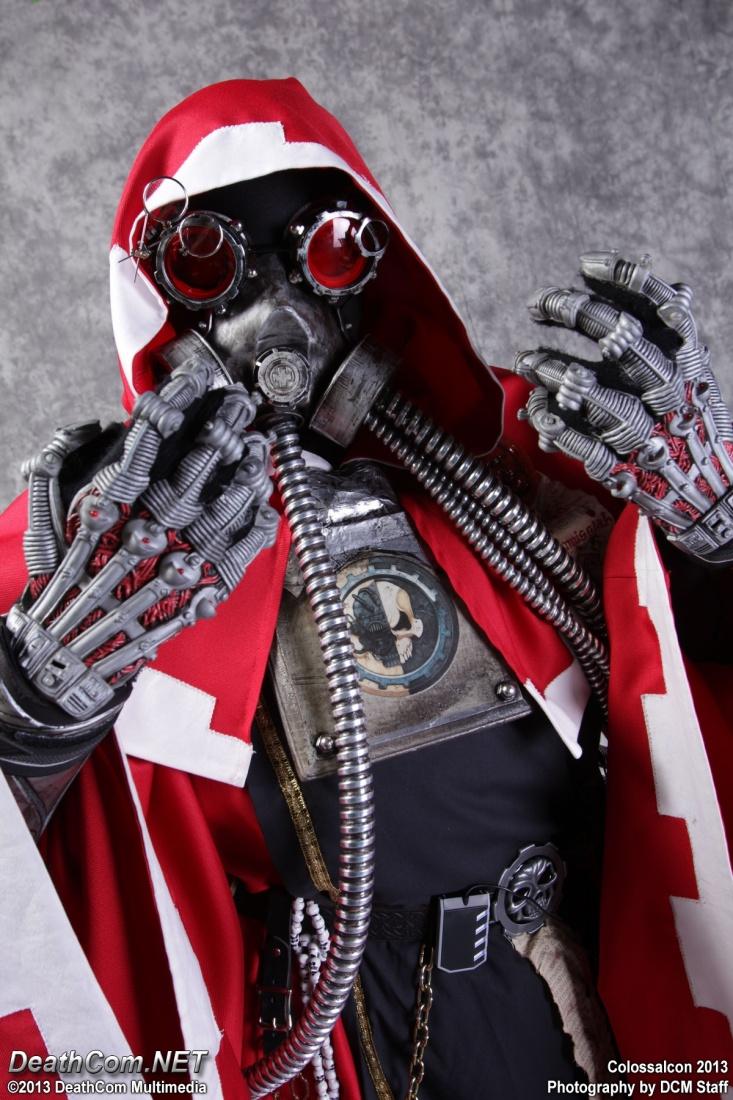 Warhammer 40k Tech-Priest Cosplay v.3 Close-up by cionbird