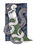 Snake Lady (inktober)