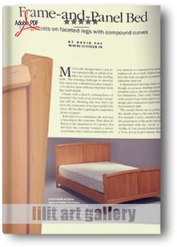 کتاب آموزش ساخت تخت خواب چوبی