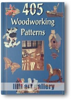 کتاب ۴۰۵ طرح چوبی