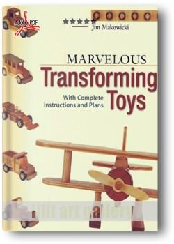 کتاب طرح و ایدههای ساخت اسباب بازیهای چوبی