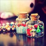 Bottled Colors by beorange