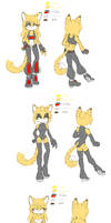 Rina the Tiger Reference by VictoryRina
