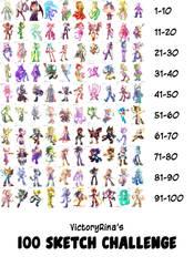 100 Sketch Challenge