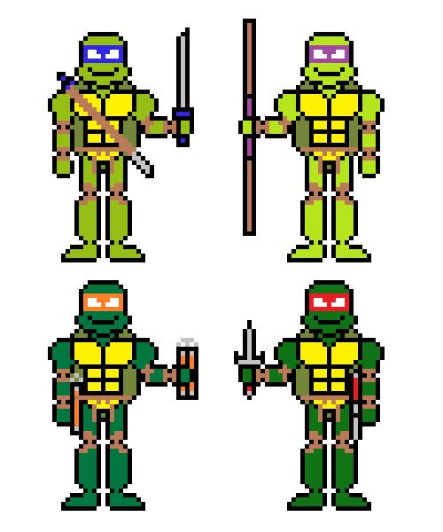 Las Tortugas Ninjas by jokernaiper