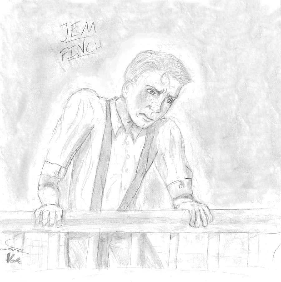 Jem Finch Drawing