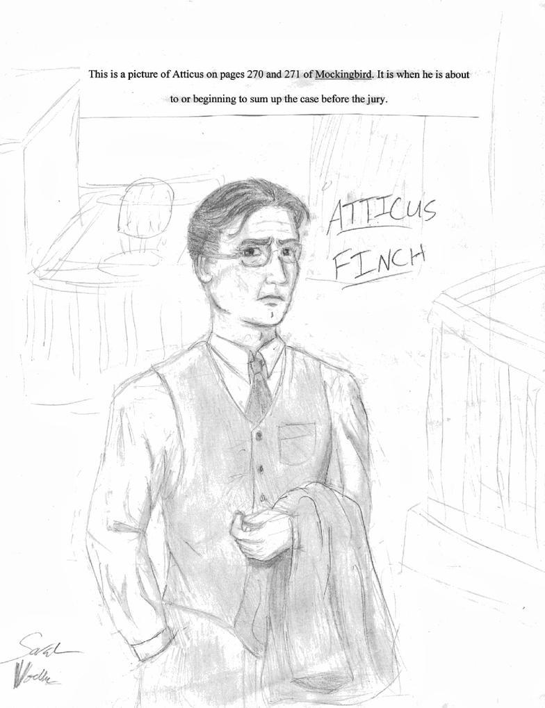 Atticus Finch By Bluesun777