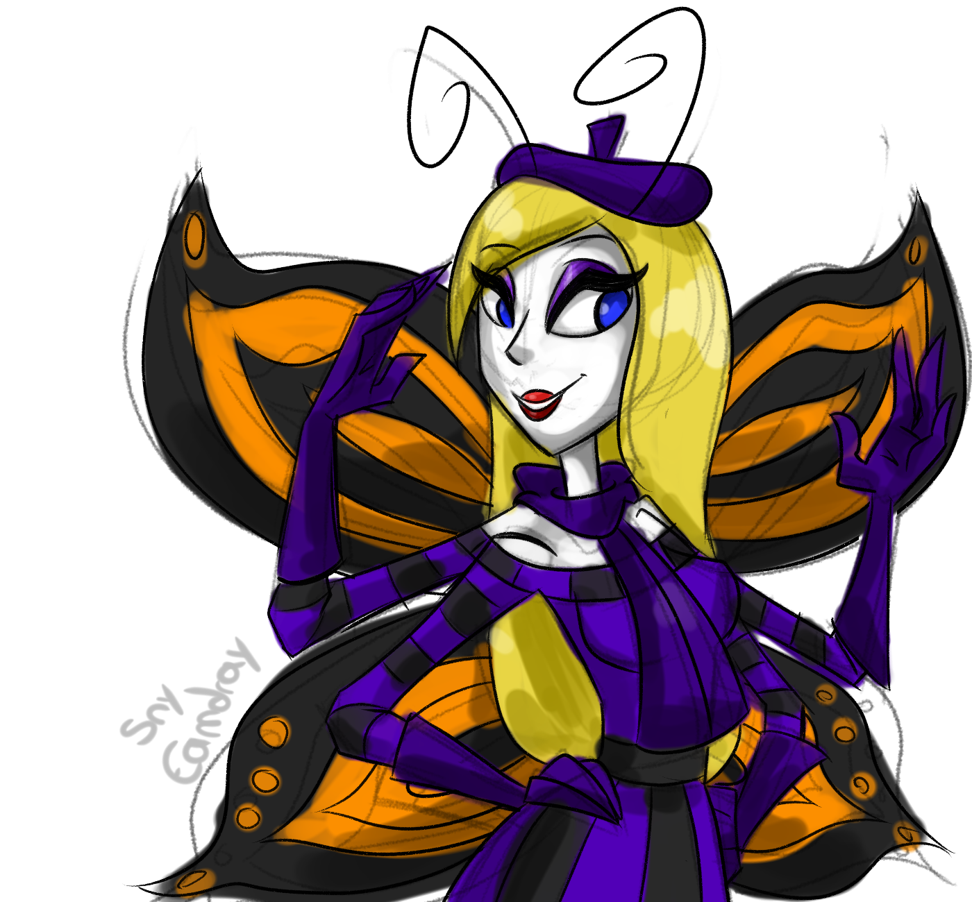 Miss Butterfly by Sny--Eamdray