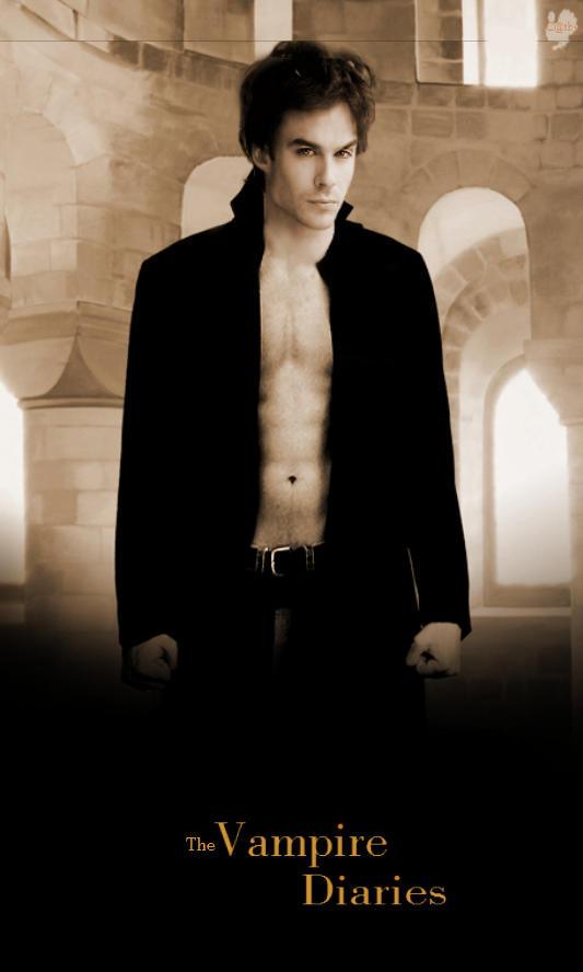Damon Salvatore by Supernatural1214