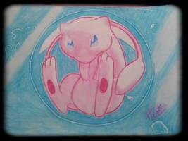 Mew, Pokemon the first movie by NitrusBrio68