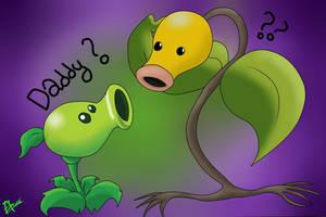 Plant Vs. Zombie - Bellsprout Pokemon by NitrusBrio68