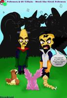 Pokemon and CB Villain - Meet the first Pokemon by NitrusBrio68