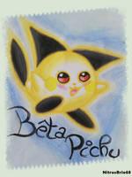 Pokemon Gold -  Beta Pichu traditionnal by NitrusBrio68