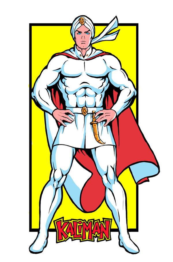 Kaliman -El Hombre Increible- by jesonite