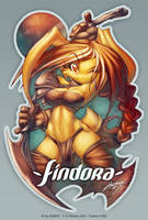 FINDORA - Bday Gift by jesonite
