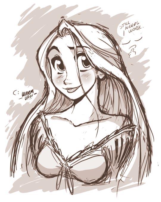 Rapunzel Warmup by jesonite