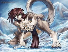 Snow Leopard by jesonite