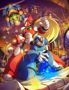 MEGAMAN TRIBUTE - First Stage