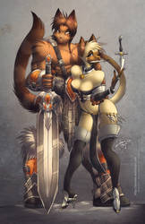 Dangerous Couple by jesonite