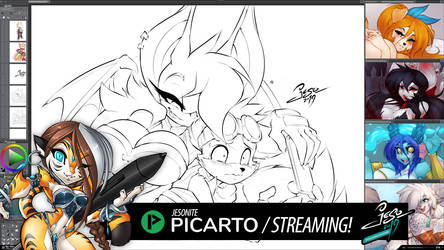 STREAMING! - FINAL ART TRADE DAY! by jesonite