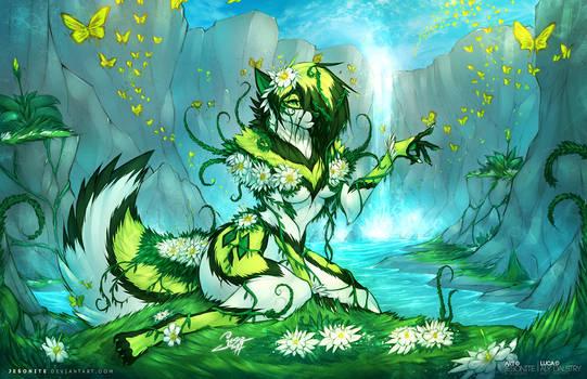Luca Spring Goddess by jesonite