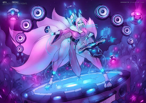 DJ Idol Freya by jesonite