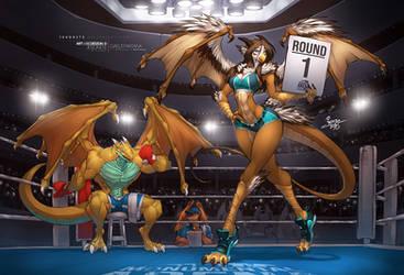 Round 1 - Ariana and the Champ by jesonite