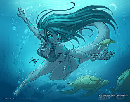 The Ocean Godess