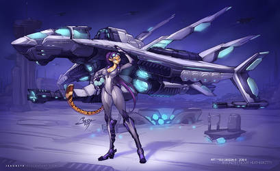 Zoe and Last Contact - Ace Pilot